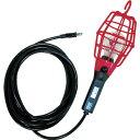 HATAYA(ハタヤ) 補助コードランプ 60W耐震電球付 電線10m ランプガード赤 ILI-10R 1