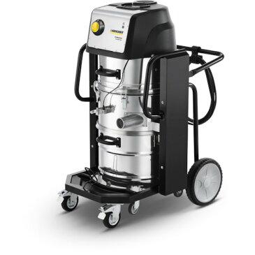 【直送】【代引不可】ケルヒャー 産業用バキュームクリーナー 乾湿両用・大容量タイプ IVC 60/30 TACT2 60HZ