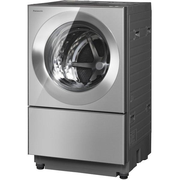【在庫有】パナソニック Panasonic NA-VG2500R-X [ななめドラム式洗濯機 Cuble(キューブル) 洗濯・脱水10kg/乾燥5kg 右開き プレミアムステンレス]※設置込(排水、給水接続はオープション)※基本配送料無料(沖縄・離島不可)