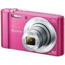 ソニー SONY DSC-W810 PC [コンパクトデジタルカメラ Cyber-shot(サイバーショット) ピンク]※送料無料