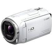 ソニー SONY HDR-CX670 WC [デジタルHDビデオカメラレコーダー Handycam (ハンディカム) ホワイト]※送料無料