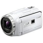 ソニー SONY HDR-PJ675 WC [デジタルHDビデオカメラレコーダー Handycam(ハンディカム) プロジェクター内蔵 ホワイト]※送料無料