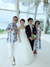 アロハシャツTypeA(お揃いのムームー有)ハワイ、グァム、沖縄の結婚式に参列する服装にピッタリのアロハシャツ!