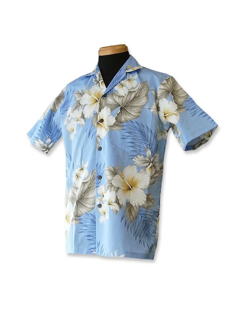 【レンタル】アロハシャツ Type A  【3】スカイブルー