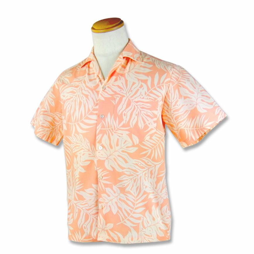 【レンタル】アロハシャツ Type A 【新商品】【12】サーモンピンク