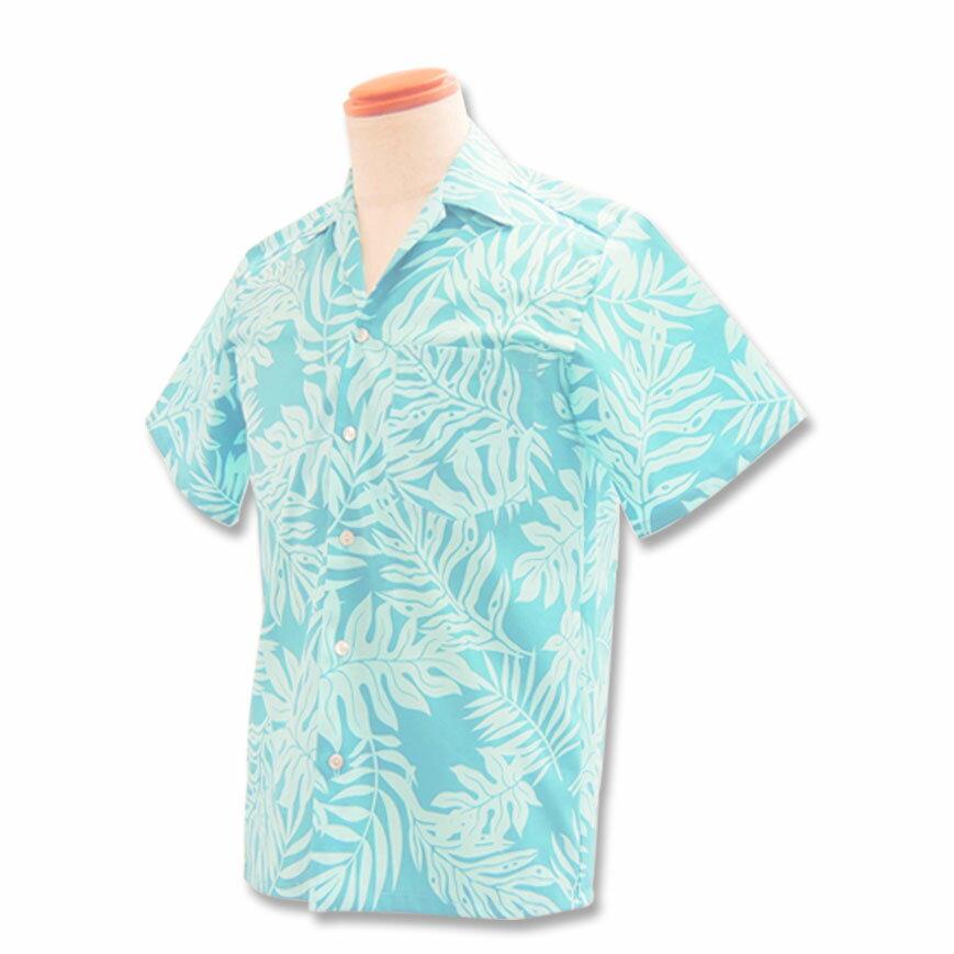 【レンタル】アロハシャツ Type.A 【新商品】【11.ライトブルー】