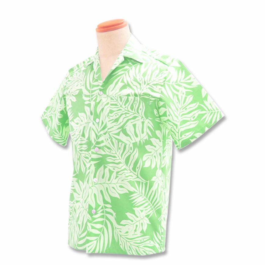 【レンタル】アロハシャツ Type.A 【新商品】【10.ミントグリーン】