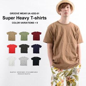 Tシャツ メンズ 無地 半袖 厚手 全9色 XS-XL   白tシャツ オーバーサイズ ヘビーウェイト レディース 白 赤 カラー 黒 カラフル ティシャツ 白ティーシャツ カラーtシャツ ティーシャツ 無地tシャツ 重ね着 インナー 大きいサイズ 春夏 トップス 夏 カジュアル 綿100% カーキ