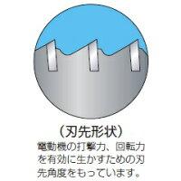 【ミヤナガ】振動用コアドリル-Sコア(セット)PCSW55R[SDSプラスシャンク]刃先径55mm有効長130mm(カッター長160mm)【MIYANAGA】