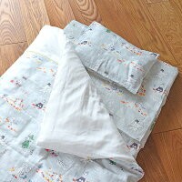 MOOMINBABYムーミンベビーふとん9点セット(洗濯可能洗えるウォッシャブル寝具日本製ベビーサイズキャラクター刺繍綿100%ダブルガーゼテンセルスノークリトルミイスナフキンミムラニョロニョロトーベ・ヤンソン)