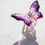マコズアトリエ手描きヘアクリップバンスクリップ六舞花のダンスVC85420PY