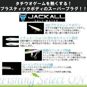 (メール便可)JACKALL陸式アンチョビミサイル21gチャートバックキャンディーソルトウォーターforSHOREGAMEジャッカルANCHOVYMISSILEタチウオサゴシサワラ青物シーバスヒラメマゴチソルトルアー