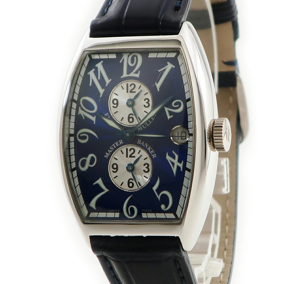腕時計, メンズ腕時計 215 FRANCK MULLER 6850MB K18WG
