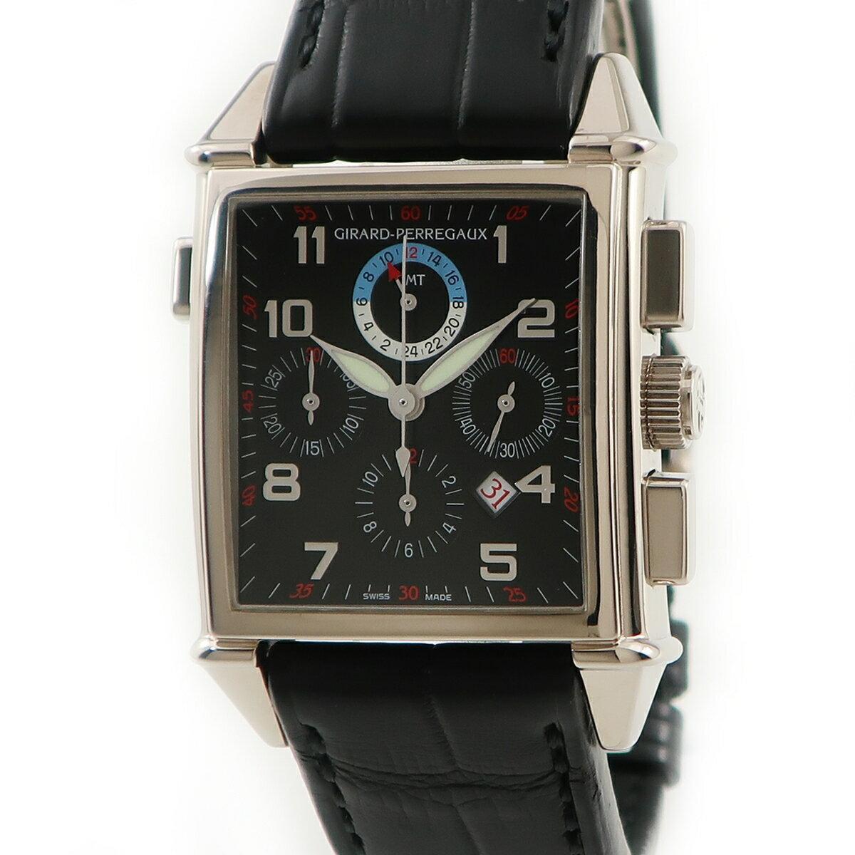 腕時計, メンズ腕時計  GIRARD PERREGAUX 1945 GMT 25975-53-612-BA6A K18WG