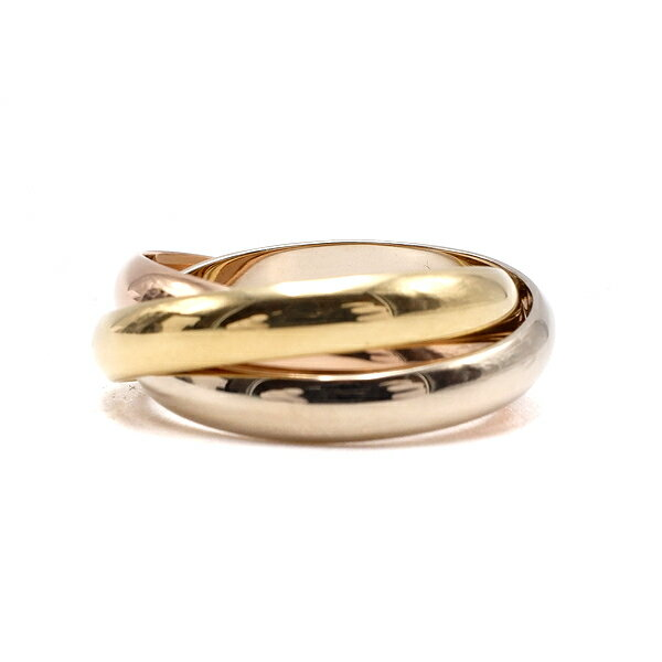 レディースジュエリー・アクセサリー, 指輪・リング  Cartier 3 K18WG K18YG K18PG 18 16 56