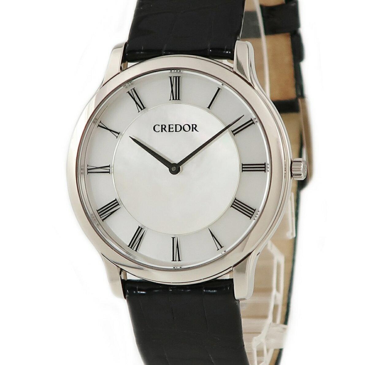腕時計, メンズ腕時計 615!3 Credor GBAQ965 6870-00N0 K18WG