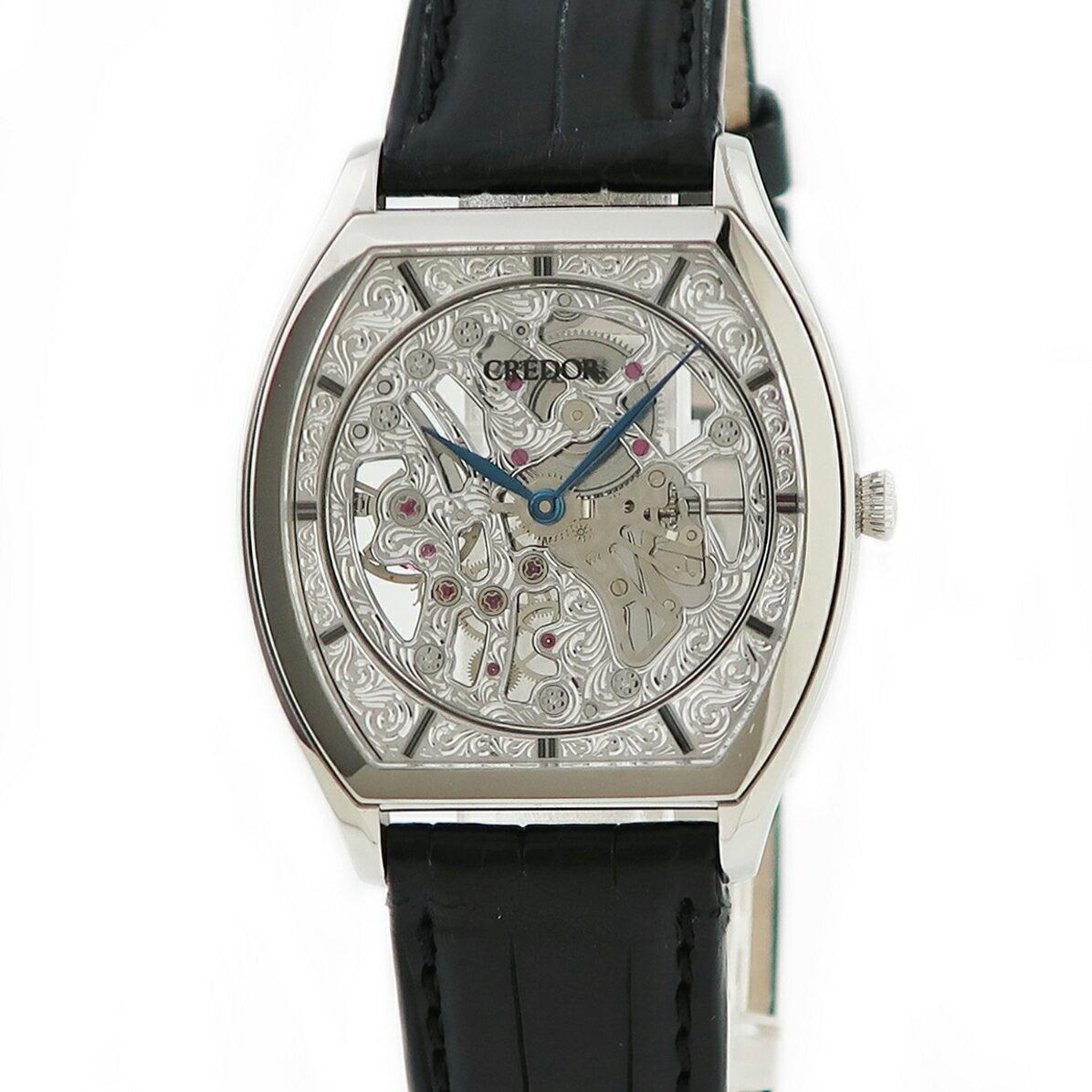 腕時計, メンズ腕時計  Credor GBBD981 6899-00D0 OH Pt950