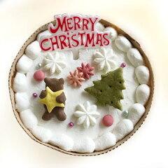 【冷凍】キッチンドッグ クリスマスケーキ スノードリーム【12月22日〜23日お届け】[myDOG楽天市場店]