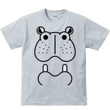 ファニーフェイス・カバ(河馬)/半袖Tシャツ