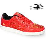 ドラゴンベアードスニーカーDRAGONBEARDDB-2602RED/RED靴メンズスニーカー