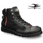 ドラゴンベアードブーツDRAGONBEARDDX-8808BLK靴