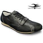 ドラゴンベアードスニーカーカジュアルシューズDRAGONBEARDDX-2301BLK/BLK/D.BRN靴