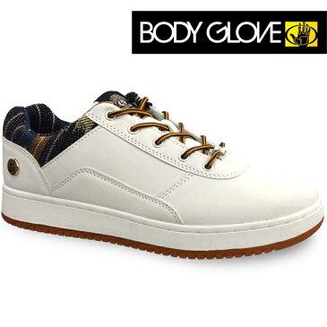 ボディーグローブ スニーカーBODY GLOVE BG758 ホワイト/ブルーボディグローブ 靴