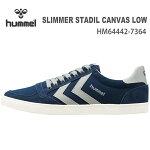 ヒュンメルスニーカーhummelSLIMMERSTADILCANVASLOWHM64442-7364T.ECLIPSE靴