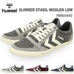 ヒュンメルスニーカーhummelSLIMMERSTADILWOOLENLOWHM64440靴スニーカーレディースメンズ