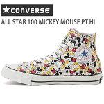 コンバースオールスター100ミッキーマウスPTHICONVERSEALLSTAR100MICKEYMOUSEPTHIマルチコンバースミッキースニーカー靴