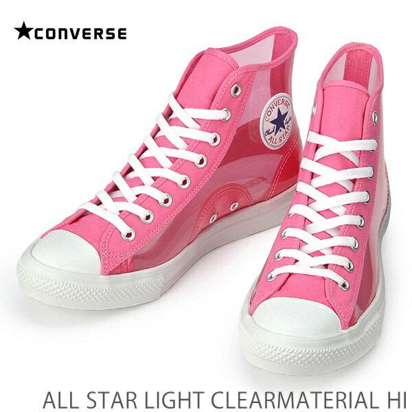 レディース靴, スニーカー  CL OXCONVERSE ALL STAR LIGHT CLEARMATERIAL HI HI