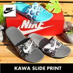 ナイキカワスライドプリントGS/PSNIKEKAWASLIDEPRINTGS/PS81938-002819358-004819359-100サンダル靴