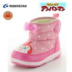 アンパンマンベビーブーツAPMB17ピンク子供ブーツキッズブーツ撥水ブーツウィンターブーツスノトレ靴P20Aug16