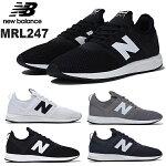 ニューバランスMRL247newbalanceMRL247ホワイトブラックグレーロイヤルブルーメンズレディースユニセックスクラシックスニーカー靴