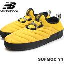 ニューバランス SUFMOC Y1(YELLOW/BLACK)new balance SUFMOCY1リラックスシューズ アウトドア スニーカー メンズ