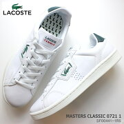 ラコステレディーススニーカーLACOSTEACEMASTERSCLASSIC07211SF00441-1R5白スニーカーコート系スニーカー