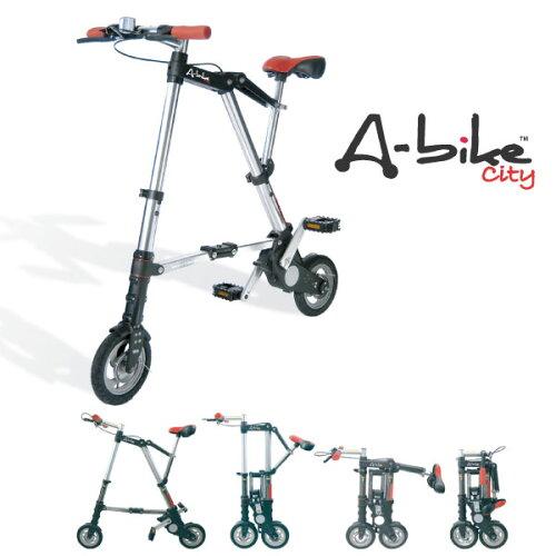 A-bike City 8インチ 後輪チューブタイヤ 折り畳み自転車
