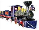 【5,250円以上お買い上げで送料無料!】レアック・ジャパン(reac JAPAN) 3Dパズル 機関車(...