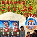 無洗米 新潟県 妙高産こしいぶき10kg(5kg×2個)「28年産 無洗米」 新米