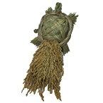 ワラ細工で出来た「亀」が載せることが出来ます縁起物