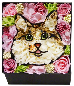 誕生日 プリザーブドフラワー ギフト 写真からつくる BOX名前なし 全国送料無料