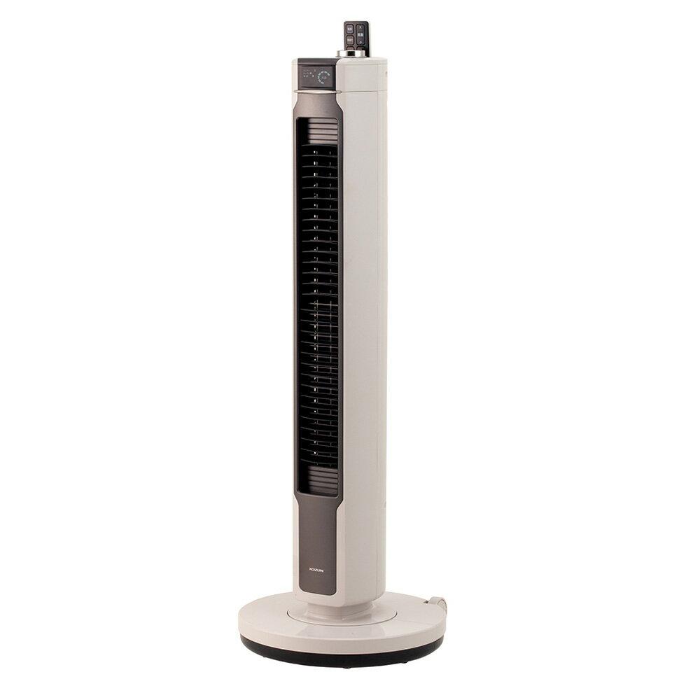 タワーファンdcモーターコイズミKTF-0501H|換気会社オフィス仕事縦型扇風機スリムファンスリムタワーDCモーターおしゃれインテリア節電台所寝室ベッド熱中症熱中症対策暑さ対策涼しい夏物おすすめ送料無料KTF0501summer