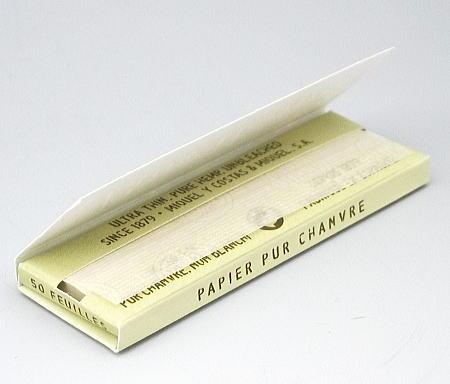 smokingpurehempUnbrechedピュアヘンプアンブリーチ手巻きタバコ用巻紙50枚入手巻きタバコシングルペーパー70mm