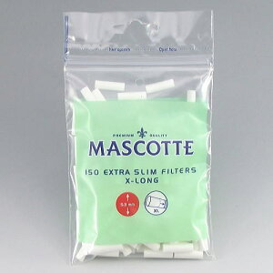 手巻きたばこ用 フィルター【MASCOTTE】マスコット エクストラ スリム Xロング150 フィルタ...