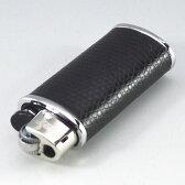 【BIC J25ミニライターを入れ替え交換可能 】アニマル柄 黒色 ライターケース ライター1個付【bicミニJ25ライターが1個付】