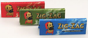 手巻き タバコ用巻紙 シングルサイズ 69mm 50枚入【ZIG-ZAG】ジグザグ ペーパー 手巻きタバコ用...