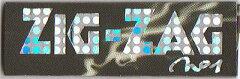 メール便対応【ZIG-ZAG】ペーパー ジグザグ ホログラム シングルサイズ 手巻きタバコ用 巻...