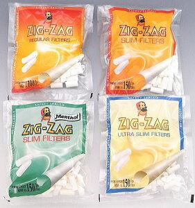 メール便対応【10%OFF】ZIG-ZAG ジグザグ 手巻きタバコ用 フィルター