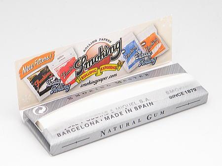 Smokingスモーキング手巻きタバコ用巻紙60枚入手巻きタバコNo.8masterSmoking・Silverマスターシングルペーパー70mm
