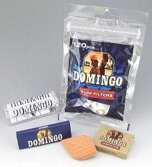【数量限定】DOMINGO ドミンゴ 手巻きタバコ用 巻器、フィルターと巻紙セット 保湿器付